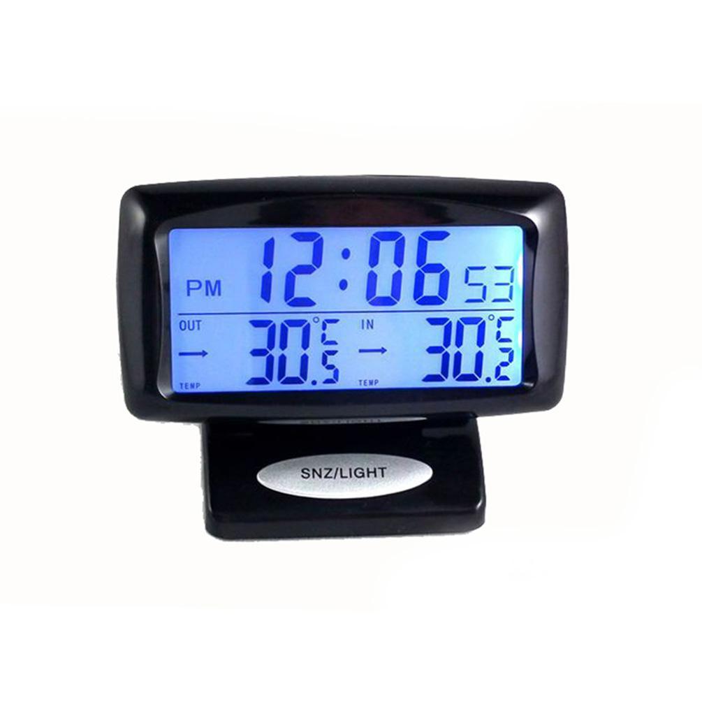 2019 Cargool Digital Car Thermometer Clock Vehicle Temperature Gauge