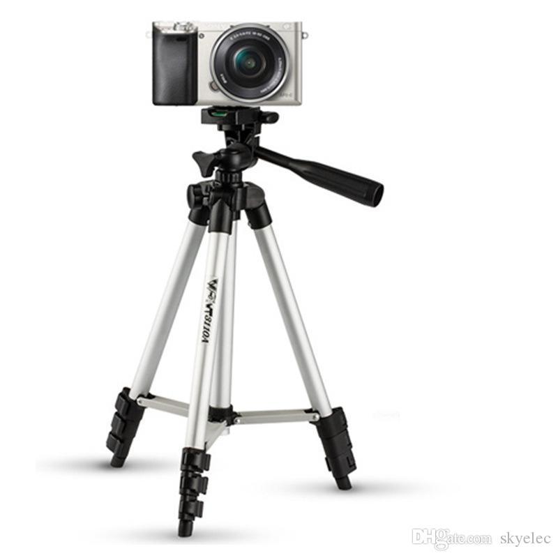 حوامل الهاتف المحمول ترايبود سبائك الألومنيوم ليلة الصيد ضوء تلسكوب الكاميرا ترايبود التصوير العالمي مايكرو واحد قوس