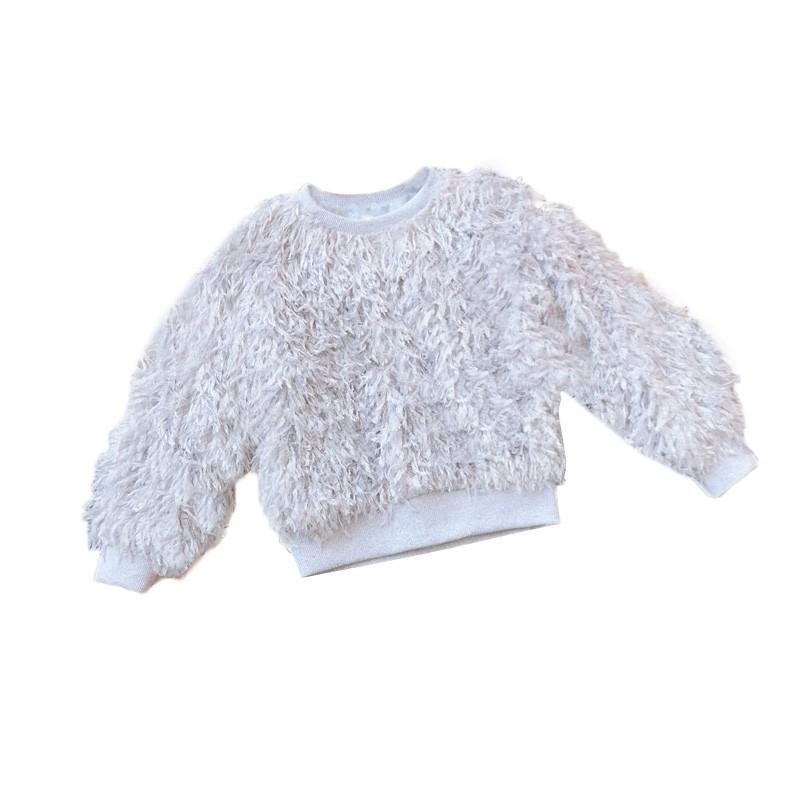 d644a9915f877 Acheter Vêtements D'hiver Pour Enfants Tops Pull Bébé Fille Pulls Poilu  Vêtements Enfants Pour Fille Chandail De Noël De $37.02 Du Curd | DHgate.Com