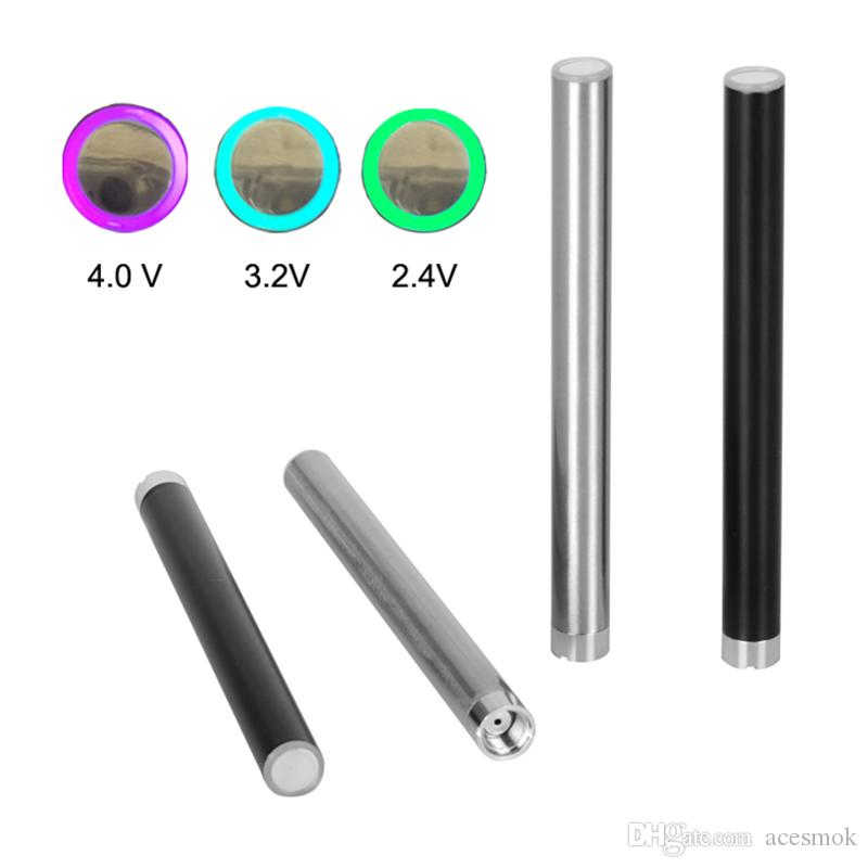 510 Thread Battery Mix2 280Mah Pre Heat Battery thick Oil Vape Pen 510 Battery Disposable E Cigarette Bud Touch Pen with USB Charger