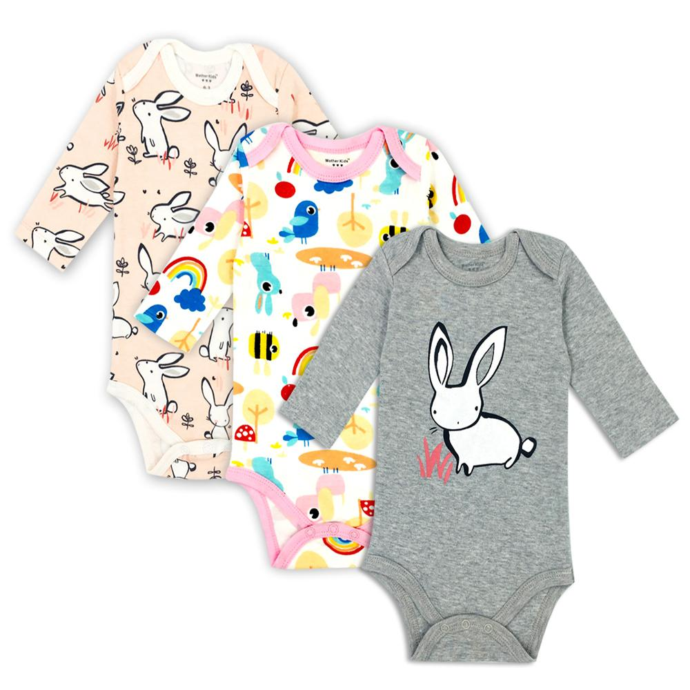 b9519f0bdd 2019 100% Cotton Baby Newborn Long Sleeve Underwear Infant Boy Girl Pajamas  Romper Factory Cost Cheap Wholesale From Dhtradeguide