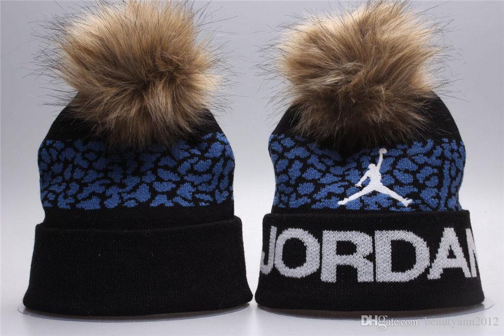 189fc5761a2 Brand Men Women Beanies High Quality Winter Unisex Ball Ski Rabbit Fur Hat  PomPoms Hats Knitted Cap Sun Hat Hats For Men From Beautyann2012