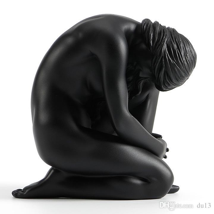 2018 Art Masculine Sculpture Home Size: 10.5*7*10.5 Cm Resin ...