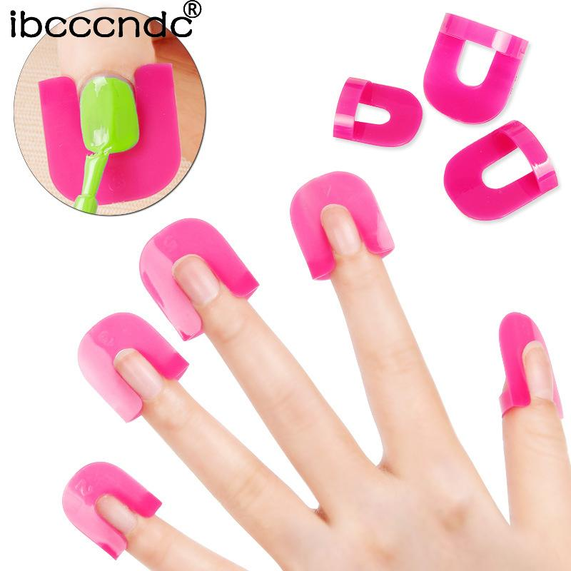 New Professional French Nail Art Manicure Stickers Tips Finger Cover ...
