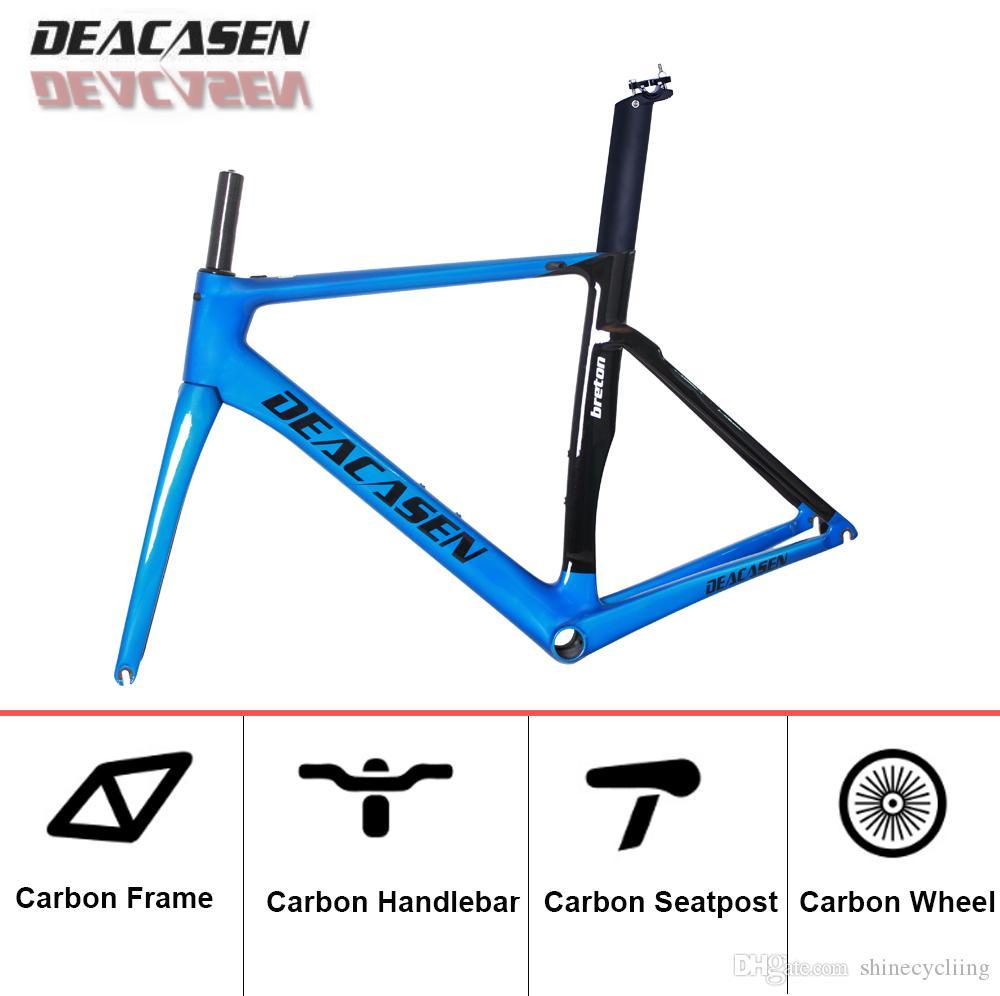 T1000 Full Carbon Road Bike Frame Hand-made carbon Fiber Road Bicycle Frame carbon Super Lighte Frame+Fork+Seatpost+Headset
