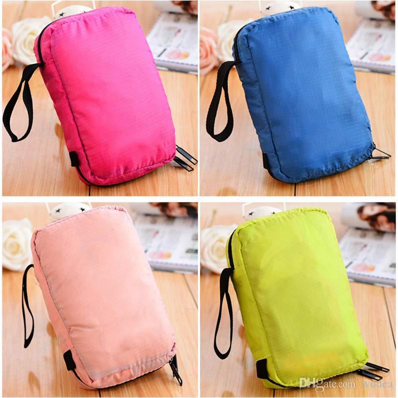a7ca9bb01912 Wholesale- Portable Hanging Multi-function Makeup Cosmetic Bag Toiletry  Pouch Storage LT88 Toiletry Pouch Cosmetic Bag Makeup Cosmetic Bag Online  with ...