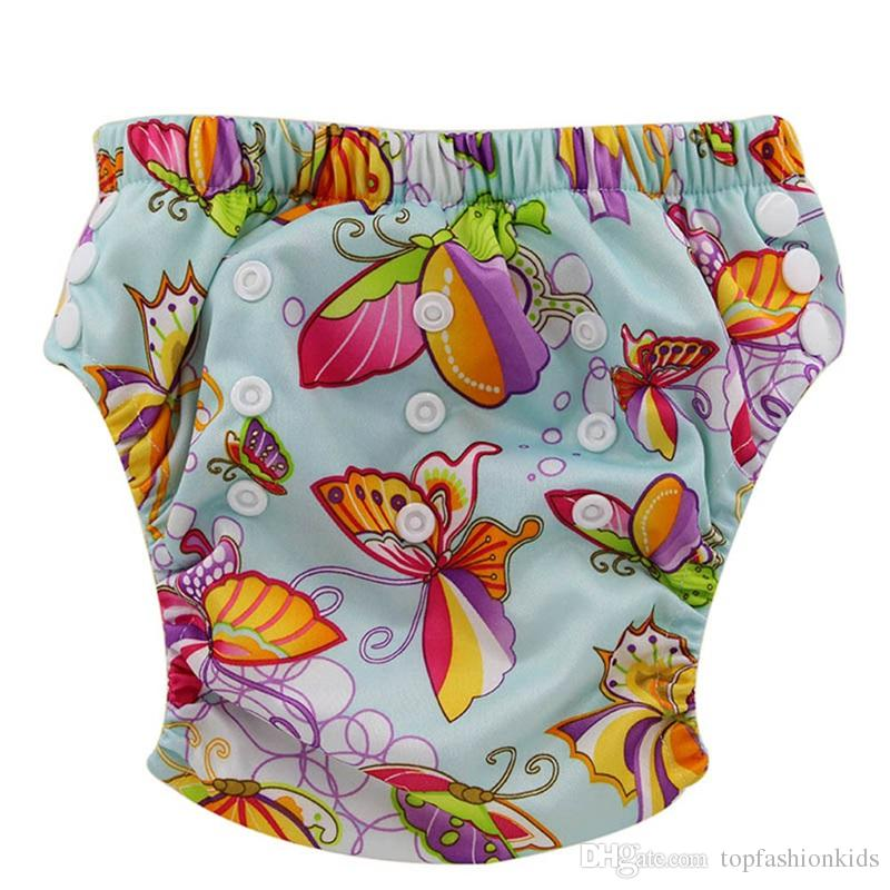 Adjustable Trainning Pants Infant Baby Boy Girl Nappy Pant Reusable Baby underwear Fit 18mon-3 Years Toddler Cloth diaper 50 Pack