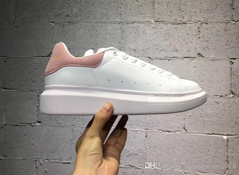 Cheap On Sale Mens Womens Sports Shoes Platform Sneaker Flat Casual Shoes Lady Black Pink Gold Running Tennis Comfort 35-43