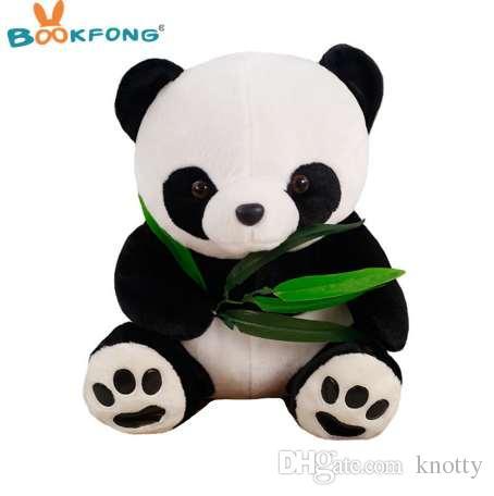 18cm New Kawaii Bamboo Panda Plush Toy Kids Soft Charms Stuffed Animal Plush Doll Lovely Chinese Panda Plush Toys Stuffed & Plush Animals Toys & Hobbies