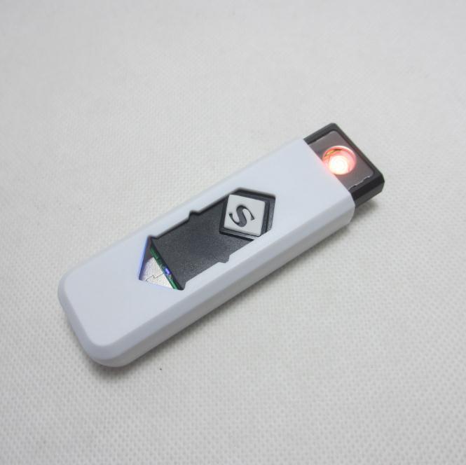 USB Eletrônico Isqueiro Novidade Cigarro Eletrônico de Tabaco Isqueiro Charuto Isqueiros USB Sem Chama Brand-new Atacado c127
