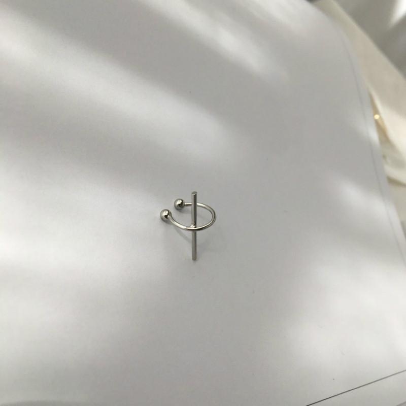 1 Unidades de moda fresca simplicidad diseñado cobre metal palillo oreja oreja aretes no piercing brinco de meninas