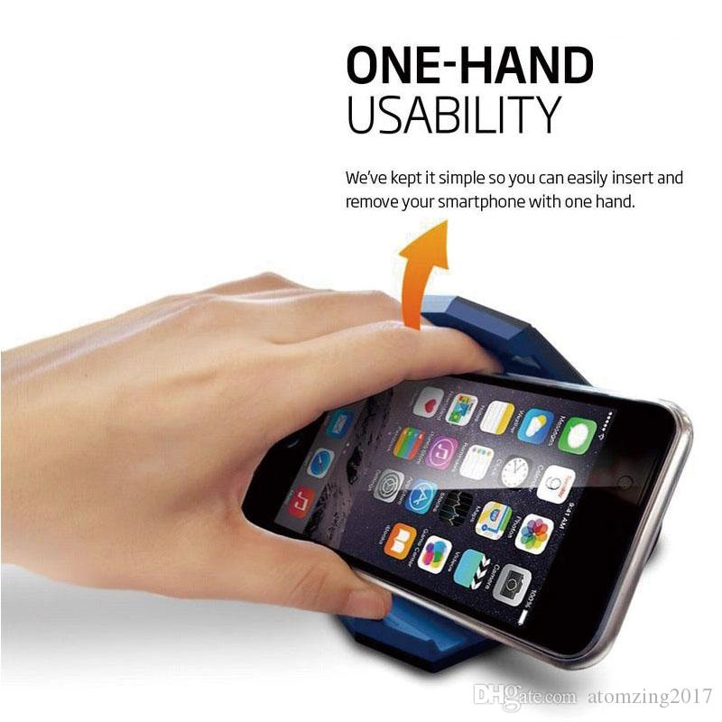 Evrensel Araç Telefonu Tutucu Standı Ayarlanabilir Timsah Klip Araç monte Mobil İskele Tutucu Cradle Montaj Dirseği