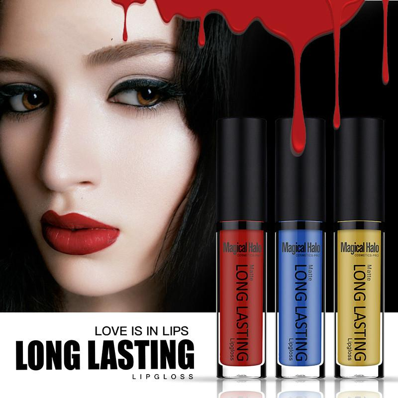 Grosshandel Wasserdichte Langlebige Lipgloss Pigment Dunkel Lila