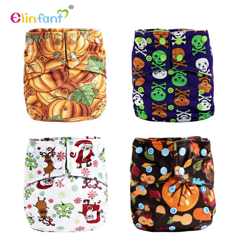 2018 elinfant os bamboo charcoal aio diaper 4 layers halloween christmas cloth baby nappy cloth diaper from englishi 3426 dhgatecom