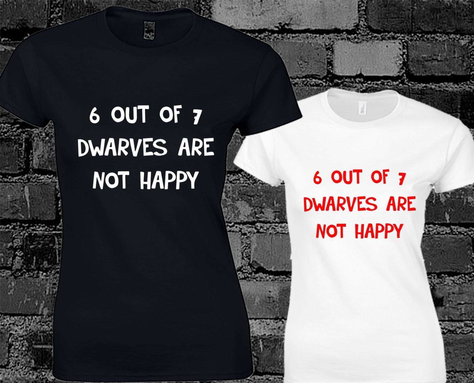 a2c2e52b Shirts & Tops 6 Out Of 7 Dwarves are Not Happy Mens T Shirt Top Funny ...