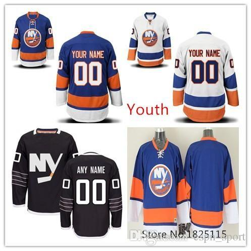 best sneakers 4a116 20c2b Factory Outlet, Youth Custom New York Islanders Alternate Jersey Black Kids  Customized Authentic NY Islanders Boys Hockey Jerseys Personaliz