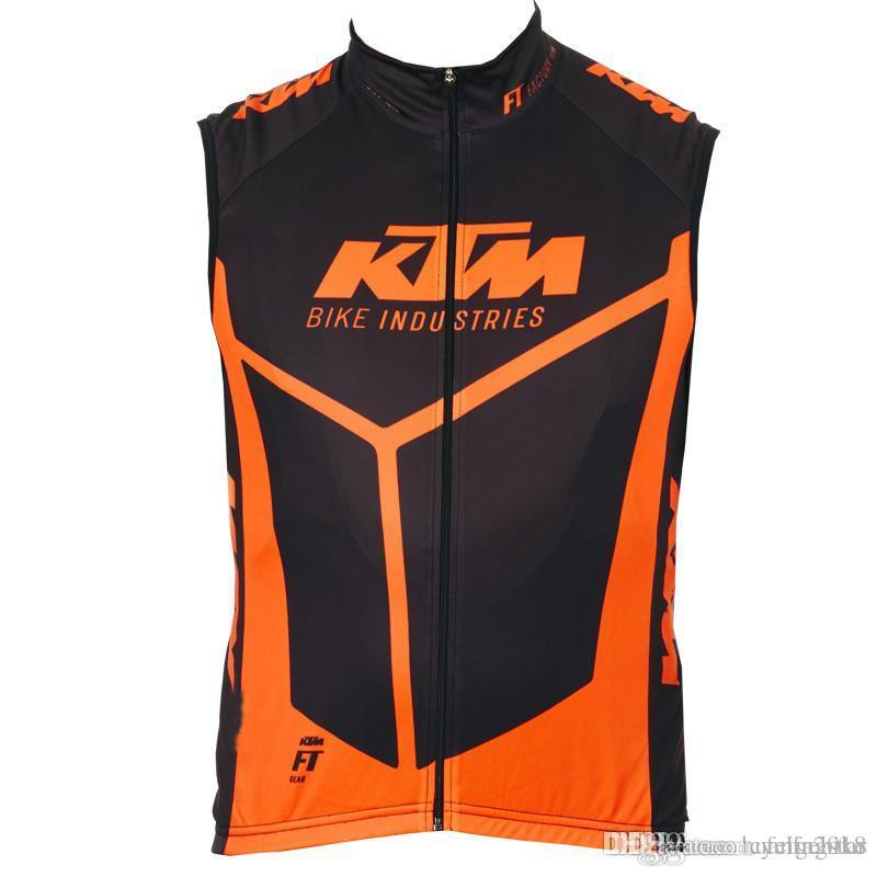 7ed83ef04 2017 KTM Sleeveless Cycling Jersey Summer New Ropa Ciclismo Hombre Bike Mtb  Vest Maillot Ciclismo Quick Dry Men Cycling Clothing B1405 Cycle Jackets  Mens ...