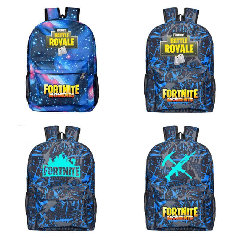 Fortnite Battle Royale Night Light Backpack Unisex School Shoulder Bags  Luminous Backpack Teenager Students Bag Sports Travel Tote 2018 New Fortnite  Battle ... ab883c735ec04