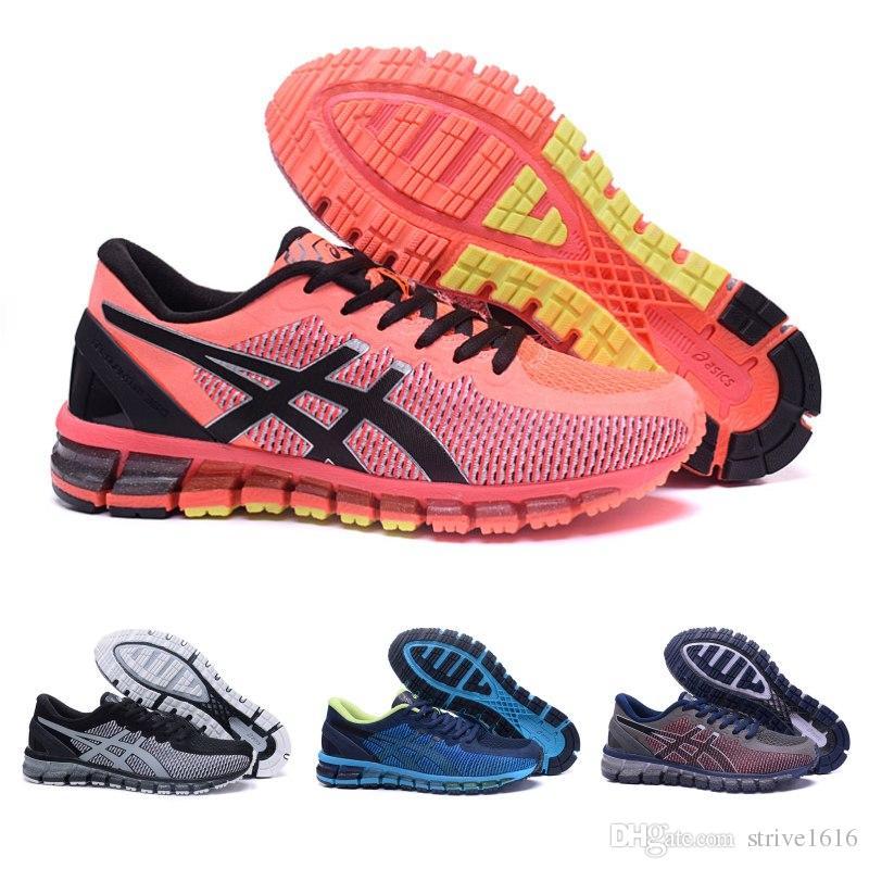 b5e8d3d94ef5 2019 Asics GEL QUANTUM 360 Women Men Running Shoes 100% Original Cheap  Jogging Sneakers Lightweight Sports Designer Shoes Size 36 40 From  Strive1616