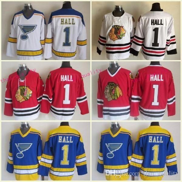 d8145c65f ... reduced 2018 new chicago blackhawks 1963 glenn hall hockey jerseys ccm  vintage 1 glenn hall st