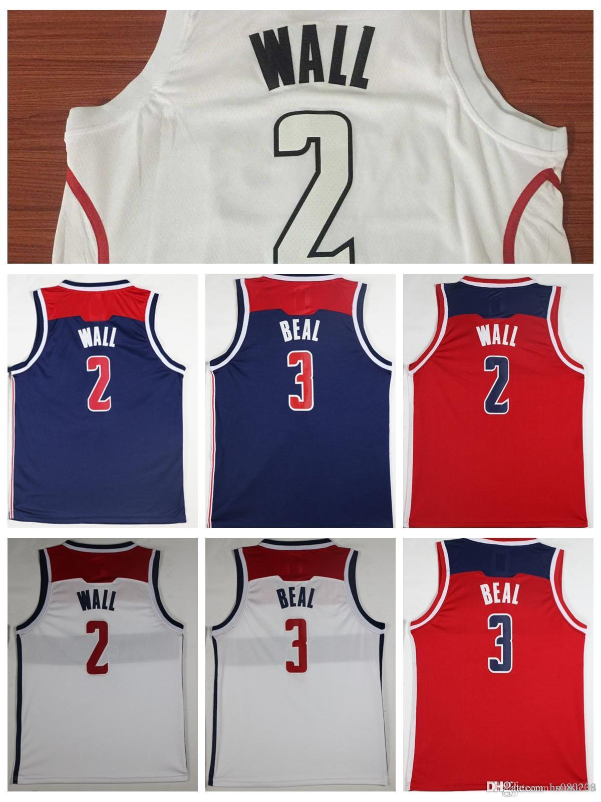 hot sale online 40b28 6321a where to buy john wall wizards jersey b428d 07636