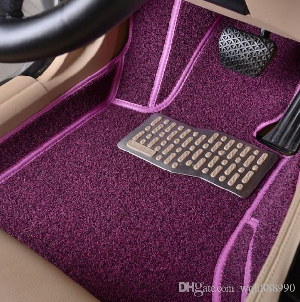 2019 Custom Fit Car Floor Mats For Audi A6 C5 C6 C7 A4 B6 B7 B8