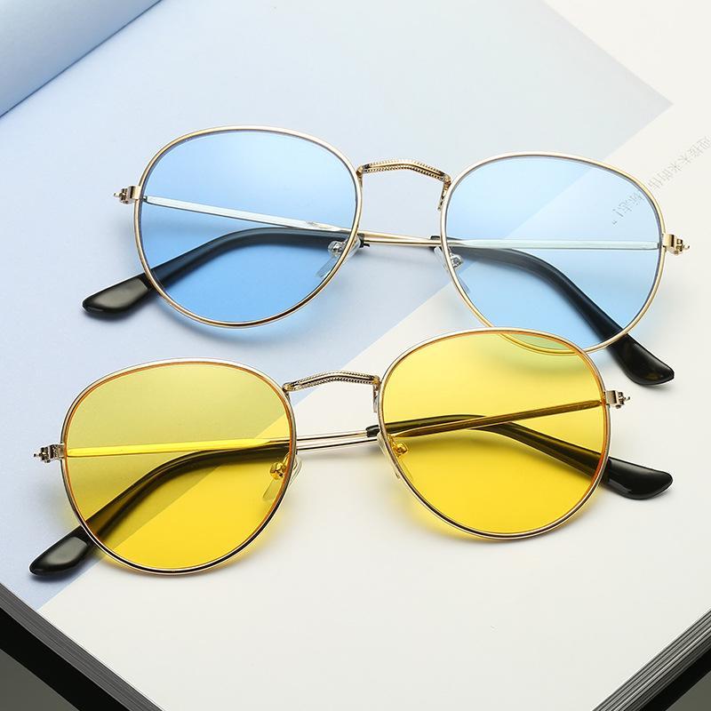 e3077567857 Sunglasses Women Round 2018 Summer Classic Sunglases Metal Frame Trends New  Fashion Glasses UV400 Women s Sunglass 90s Glass Polarized Sunglasses  Sunglasses ...