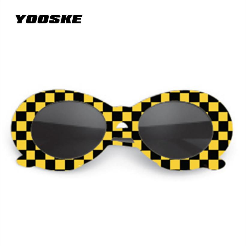 f8e4a37dcffd9 YOOSKE Clout Goggles Sunglasses NIRVANA Kurt Cobain Sunglasses Men ...