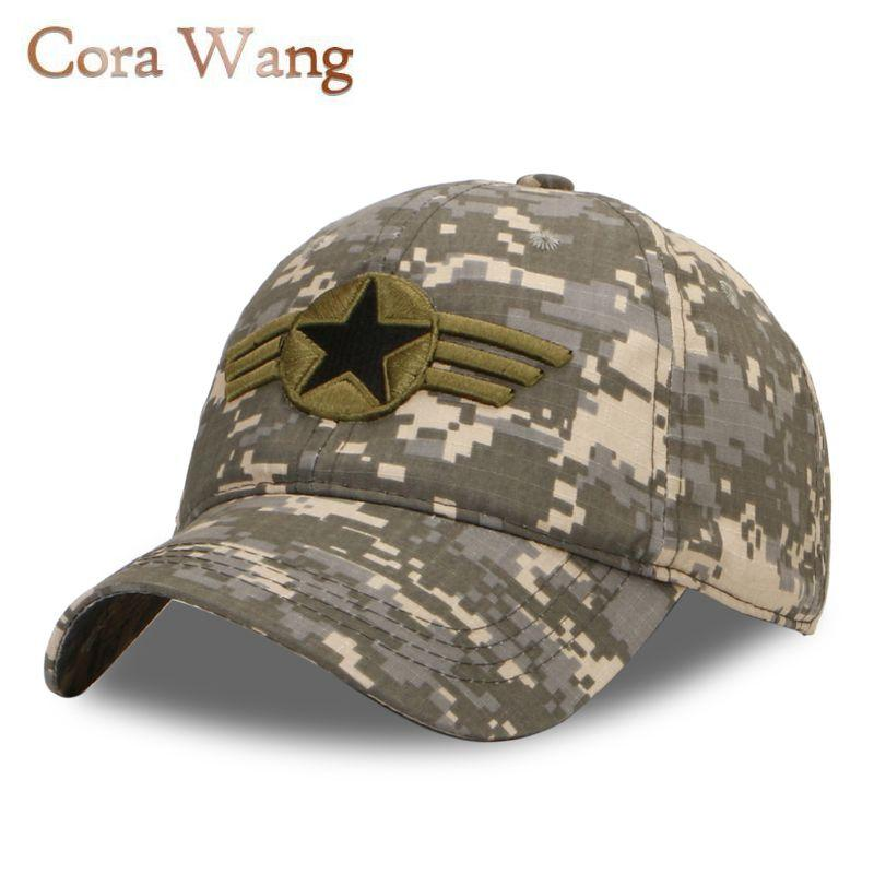 7976c1066 Camouflage snapback polyester cap blank flat camo baseball cap with no  embroidery mens and hat for men and women