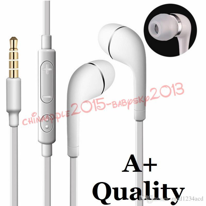 J5-Stereo-Kopfhörer 3,5mm In-Ear-Kopfhörer Headset mit MIC und Fernbedienung für Samsung Galaxy S3 S6 S7 S8 Note 2 4 HTC Android Phone