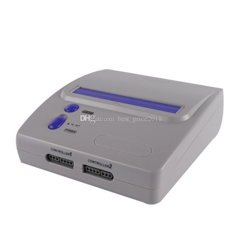 2018 16 Bit MEGA SÜRÜCÜ Oyun Konsolu SEGA MD Oyun Oyuncu Için 2 kablolu kontrolörleri ile Supprot Micro SD kart