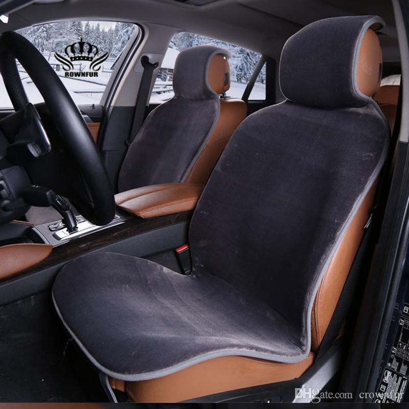 Auto Crown Hot Sale Universal Car Seat Interior Accessories Faux Fur