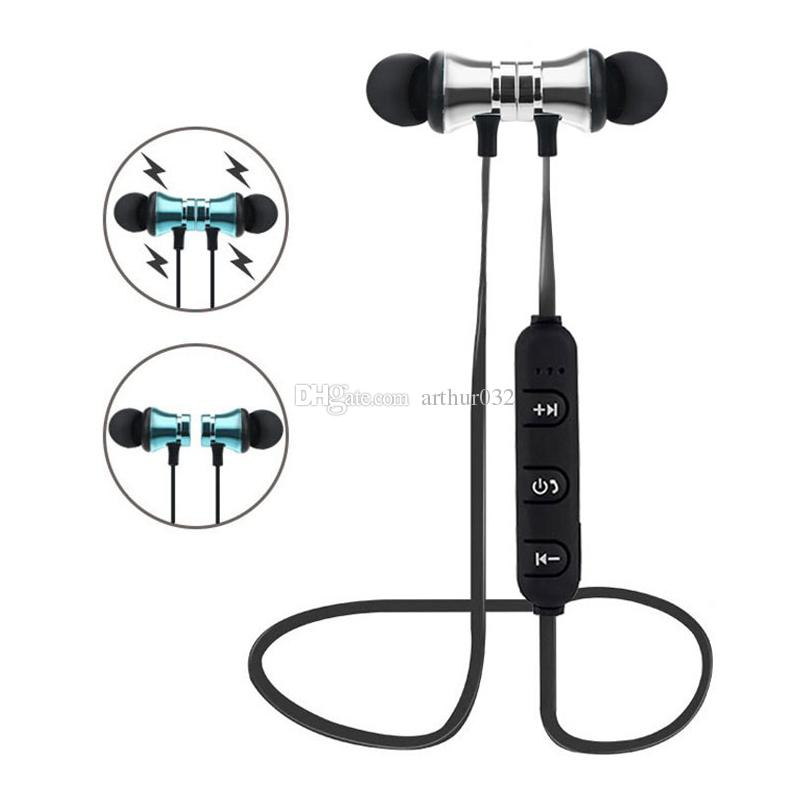 XT-11 Bluetooth 4.2 Earphones Magnetic Wireless Running Sports Headphones Headset with Mic MP3 In-Ear Earbud Stereo Bass Music Earpieces wit