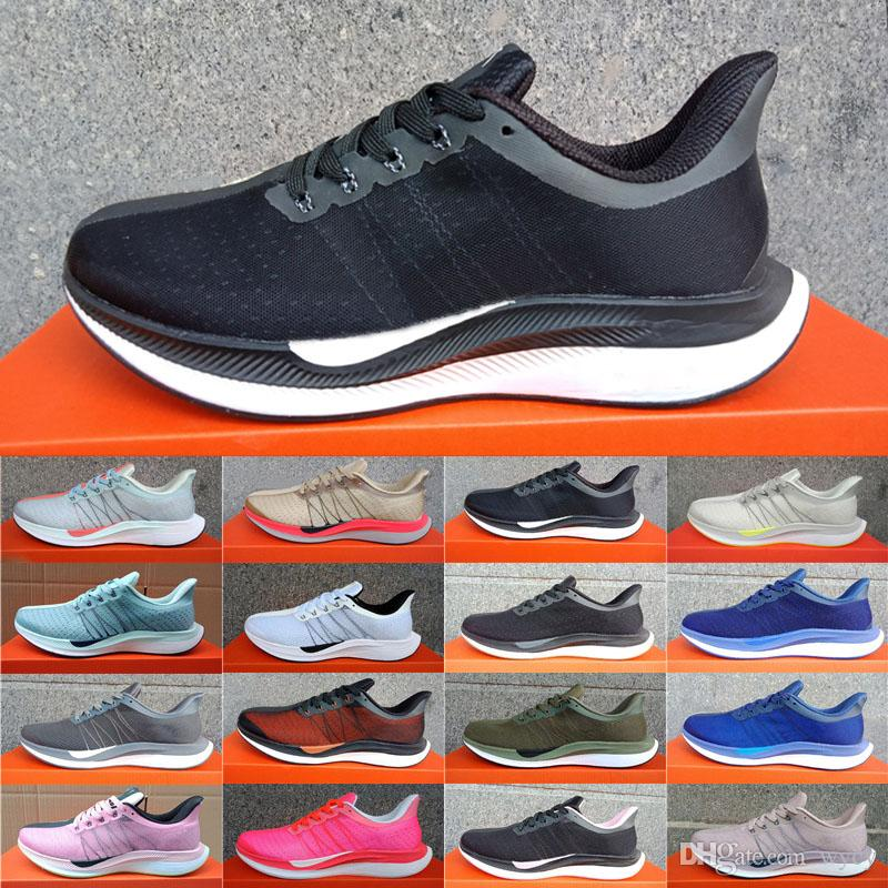 2018 Zoom Pegasus Turbo Nike Air Zoom Mariah Flyknit Racer Chaussures De Course Pour Hommes Femmes