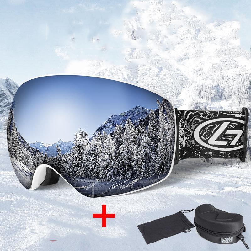 955090fc257 Winter Snow Sports Ski Goggles Skiing Eyewear Snowboard Goggles Anti ...