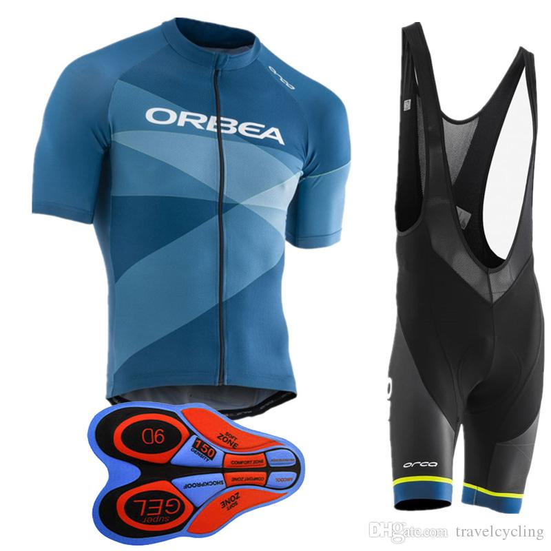 2018 Team ORBEA Cycling Jersey Ropa Ciclismo Mens Summer Breathable MTB  Bicycle Clothing Bike Short Sleeve Shirt Bib Shorts Set 91901Y Castelli Bib  Shorts ... 577c7e391
