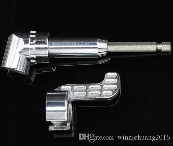Di alta Qualità 1 PZ 105 Gradi Multifunzione Ad Angolo Retto Driver Cacciavite Magnetico Drill Attachment Screw Batch con esagono 1/4-inch