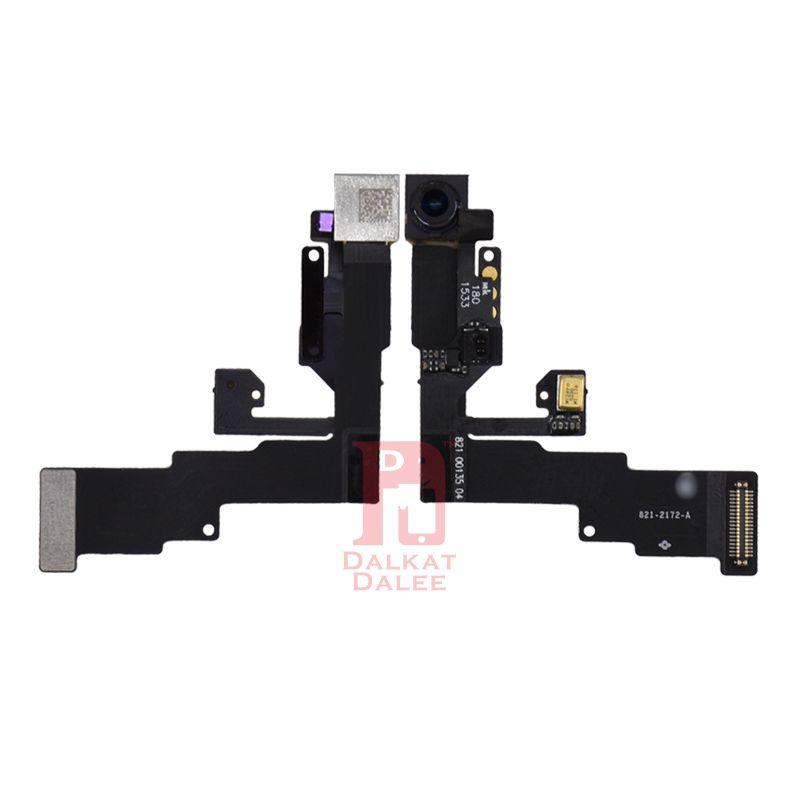 كاميرا أمامية صغيرة للآيفون 5 5s 5c SE 6 زائد 6S 6S زائد 7 8 زائد X القرب الاستشعار الخفيفة استبدال فليكس