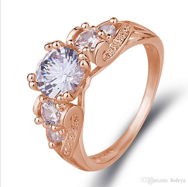Diamond Rings For Sale Cheap: 2019 New! Hot Sale Wedding Diamond Ring Set For Women