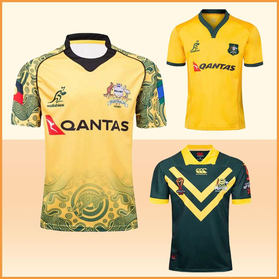 2019 NRL 2018 National Australia Rugby Jersey 2019 Rugby World Cup League  Shirt Limit Commemorative Edition Tops Custom Name Jersey Fast Shipping  From ... f8626fe59