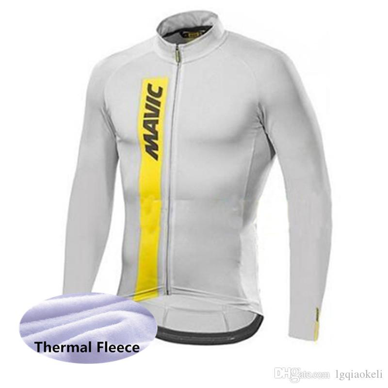 536c418d3 Winter Cycling Clothing 2018 MAVIC Fleece Thermal Ropa Ciclismo ...