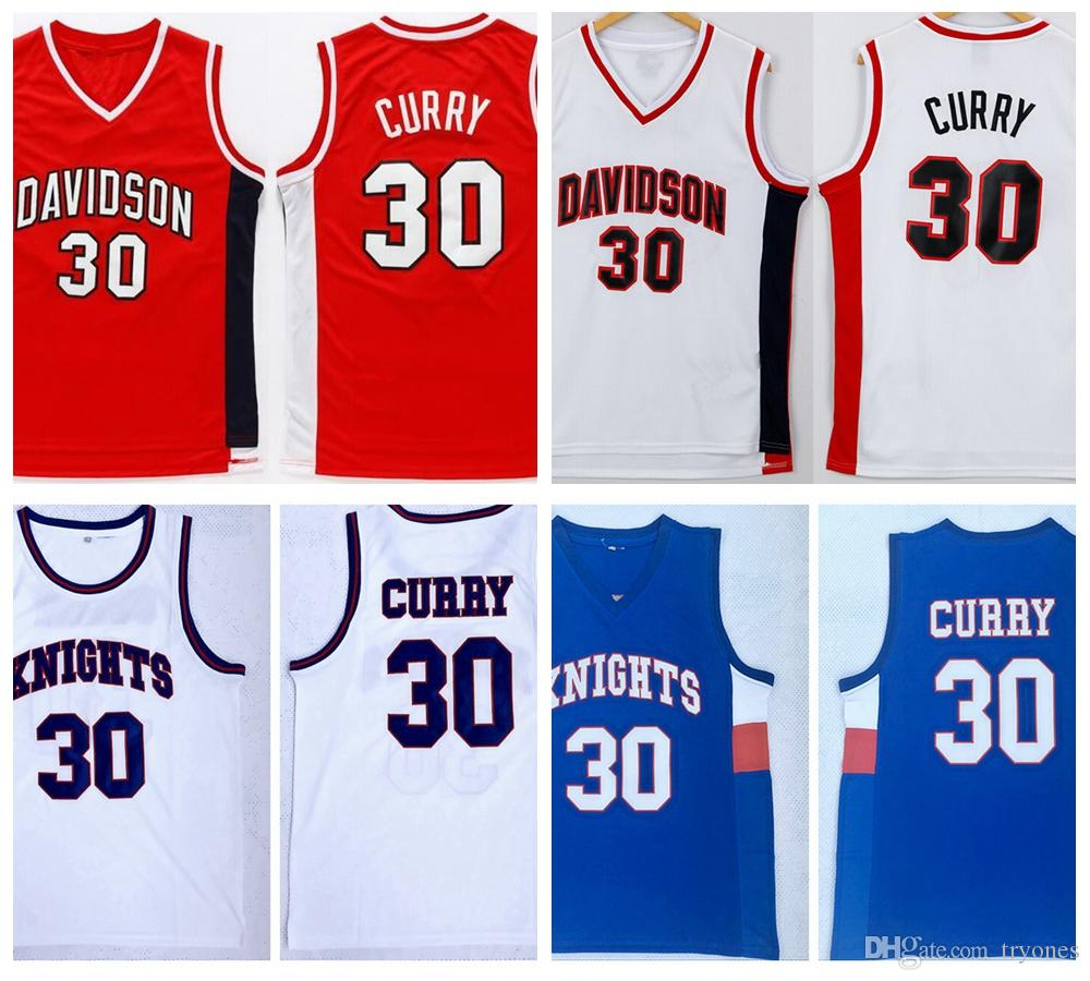 2019 Mens Charlotte Christian Knights Stephen Curry 30 High School  Basketball Jersey Cheap Davidson Wildcat College Stitched Basketball Shirts  From Tryones 47f92e10e
