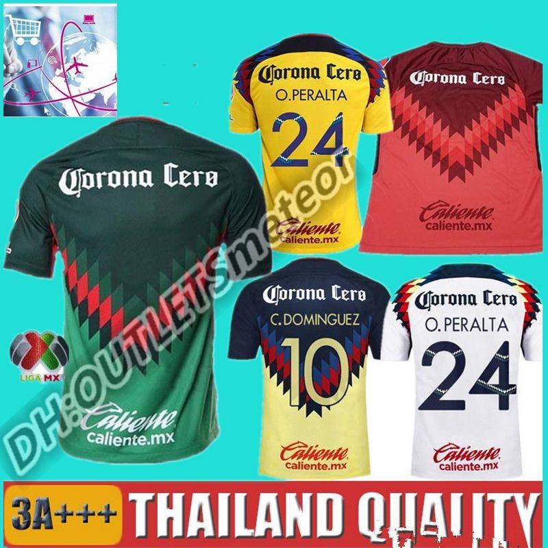 1aeae3ab3 2019 TOP Quality 2016 2017 LIGA MX Club America Soccer Jerseys Home Away  Third Black Centenario 18 19 SAMBUEZA Football Shirt Camiseta De Futbol  From ...