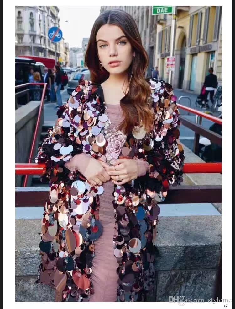 Brand Designer Leopard Embroidery Runway Dresses 2018 Summer Autumn Milian Fashion Women Long Sleeve Fold Gauze Party Cocktail Gowns