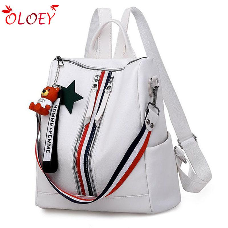 Bags For Women 2018 New Of The Wild Tassel Backpack Female Fashion Middle School  School Bag College Wind Multi Function Backpac College Backpacks Girl ... 110c8a7549dc4