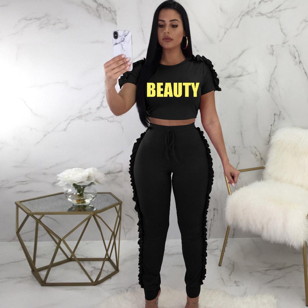 Compre Mujeres Chándal Moda Casual Con Capucha Crop TopLong Pant 2 Piezas  Conjunto Traje De Pantalón De Algodón Femenino Summer Outfits Negro Rosa  Gris A ... 5a9eab7d561f