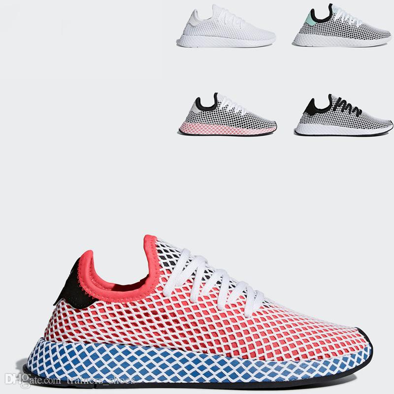 amazon sale online wiki cheap price 2018 Deerupt Sneakers Runner Fashion luxury Casual Shoes For Men Women Run Sport Sneaker Triple S White Pink Oreo Cheap Primeknit Mesh cheap sale wiki 2015 new cheap price outlet free shipping fw1bNzRur