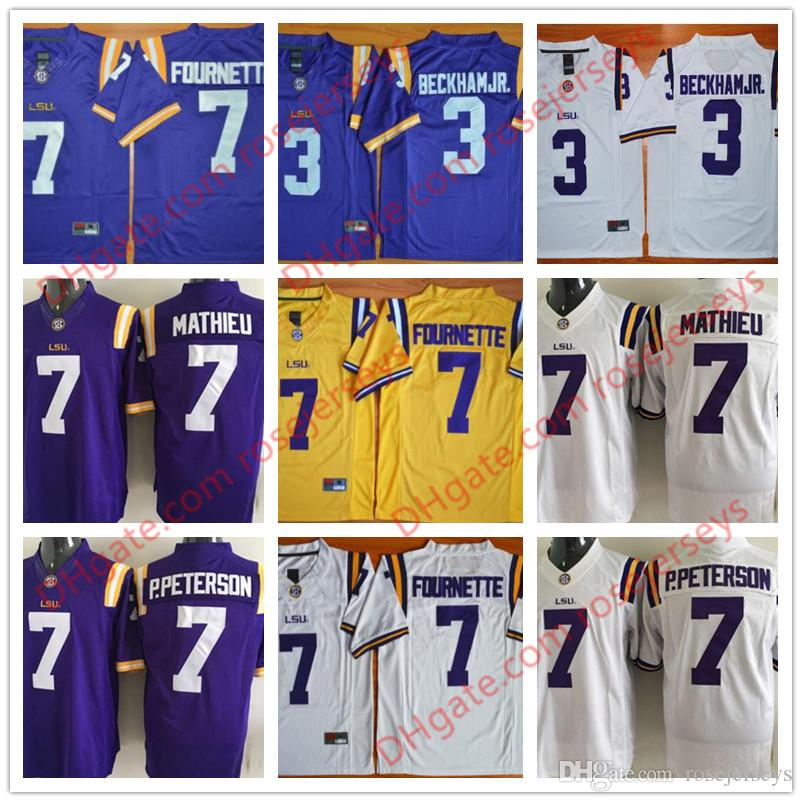 973665606 free shipping mens lsu tigers 7 tyrann mathieu purple 2015 college football  limited jersey a011f 0b11a