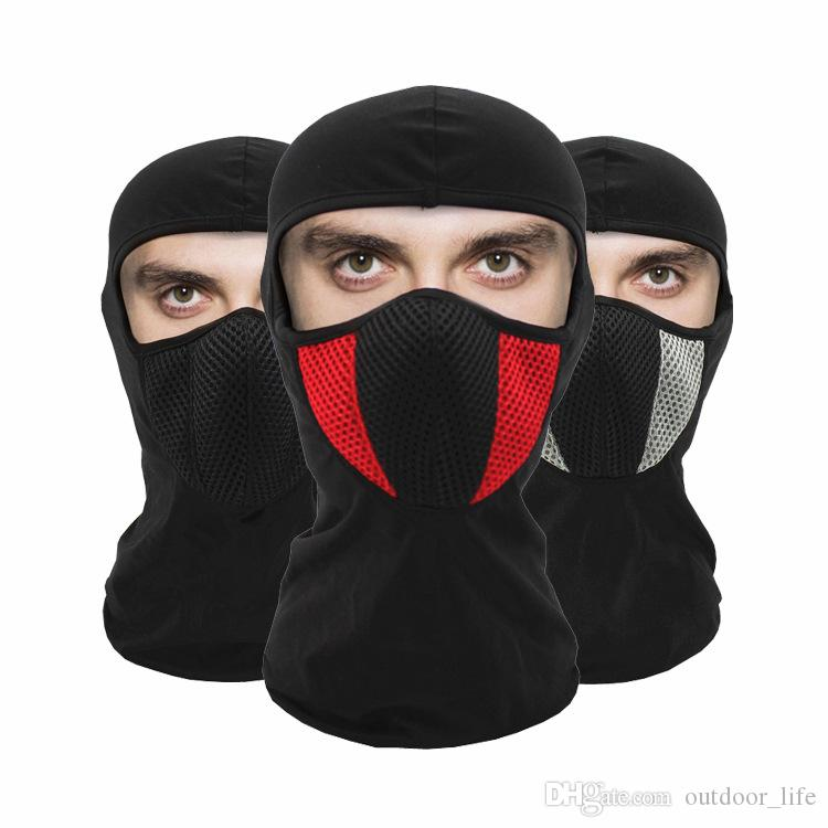 Balaclava Motorcycle Face Mask Thermal Fleece Tactical Airsoft Paintball Cycling Bike Ski Army Helmet Protection Full Face Mask Apparel Accessories