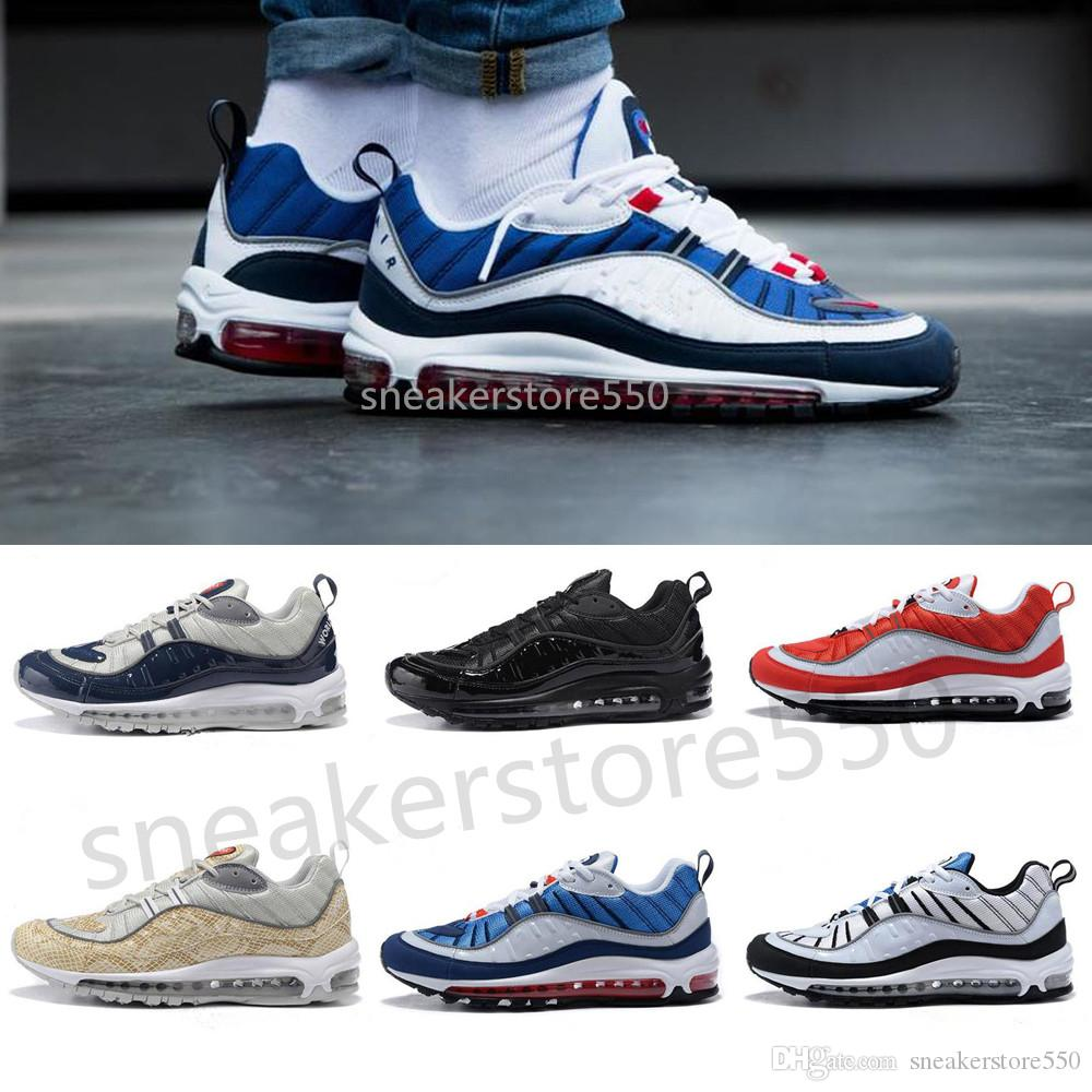 Compre Nike 98 Air Max 98 Airmax Llegada 98 Nike Gundam Deportes Zapatos 96e199